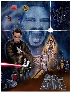 Star Wars + Big Bang = BAZINGA!!!