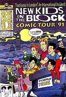 New Kids On The Block Comics Tour '90/91 (1990 series) #4 by Harvey Comics