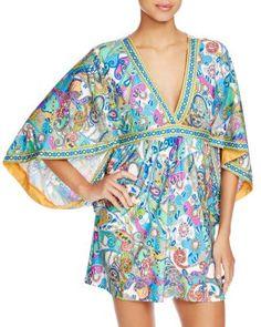 Trina Turk Mykonos Tunic Swim Cover Up - 100% Bloomingdale's Exclusive   bloomingdales.com