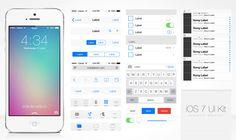 iOS 7 GUI Seti