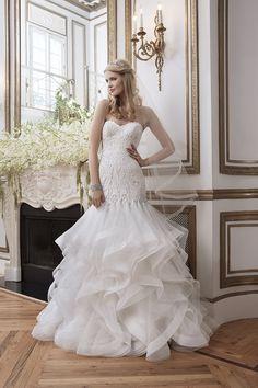 Veja a nova coleção de vestidos de noiva Justin Alexander para 2016. Lindos como vestidos de contos de fada.