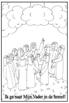 17 beste afbeeldingen van Bijbel: Hemelvaart van Jezus