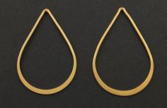 24K Gold Vermeil Over  Sterling Silver Large by Beadspoint on Etsy, $12.99