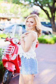 Sydney {Senior '16} Clara Bella Photography | Dallas/Fort Worth, TX Senior Photographer www.clarabellaphoto.com