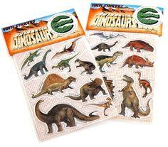 Dinosaur Sticker Twin Pack (Dinosaur Party Supplies)