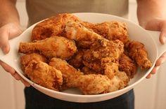 Le migliori Ricette Americane: Pollo Fritto Croccante - Crispy Fried Chicken #pollo #fritto