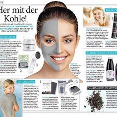 We love black. ⚫️ In der aktuellen Ausgabe der Frau im Spiegel aus Deutschland haben gleich zwei unserer Beauty- und Lifestylekunden Platz gefunden! Vielen Dank. . .  Wir machen aus Mücken Elefanten, müssen dafür aber weder etwas aufbauschen, noch hochspielen. Jedes Produkt, jede Marke und jeder Mensch hat eine Geschichte, die es zu erzählen lohnt. Man muss sie nur finden. Man muss wissen, wann eine Geschichte eine Geschichte ist und wie man sie erzählt. Das ist unser Job. . What we do…