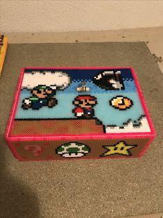 Caja de Mario bros hama beads