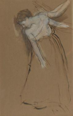 Woman Standing 1867 68 | Edgar Degas | oil painting