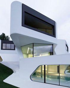 Dupli House by J. Mayer H. Architecture & Design /// Dubli Casa por J. Mayer H. Arquitectura & Diseño. www.dsigners.net #d_signers