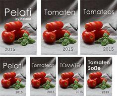 Etikette Tomaten Pelati