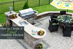 How to Create a Great Outdoor Kitchen this Season. Let's get your summer kitchen, bbq grill, and outdoor bar area ready for entertaining, cooking & relaxing. http://stagetecture.com/design-tips-for-outdoor-kitchen/?utm_campaign=coschedule&utm_source=pinterest&utm_medium=Ronique%20Gibson%20%7BStagetecture%7D&utm_content=How%20to%20Create%20a%20Great%20Outdoor%20Kitchen%20this%20Season #outdoor #home #kitchen #design