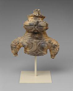 Dogû (Clay Figurine) from final Jomon period (ca. 1000~300 B.C.), Japan