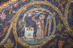 Melchizedek Mosaic in the Latin Chapel of the Nailing to the Cross, Jerusalem Spanish Armada, Activities For Girls, Latter Day Saints, Religious Art, Lds, Seal, Study, Faith, History