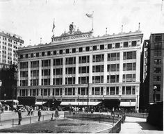 The May Company department store opened on Public Square in 1915. Containing over 800,000 square feet of floor space, it was said to be the third largest store in the nation. It was built by world-famous architect and city planner Daniel Burnham (who also designed Cleveland's Group Plan and Mall). In the 1950s, May Company expanded into the suburbs. The downtown store ultimately closed in January 1993, and its remaining stores became a part of the Kaufmann's chain.