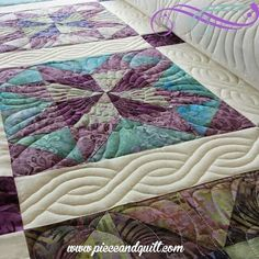 Piece N Quilt: Custom Machine Quilting - Feathers & Cables Quilting Stencils, Longarm Quilting, Free Motion Quilting, Hand Quilting, Quilting Projects, Quilting Designs, Quilting Ideas, Machine Quilting Patterns, Quilt Patterns