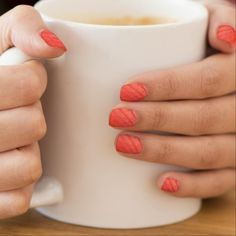 Nageldecoratie novel tic orange
