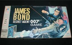 1960S Board Games | got this 1960s james bond secret agent 007 game last week... IN SEARCH OF THIS VINTAGE GAME, BUT GARAGE SALES ARE HERE SO MaYbE I WILL FIND ONE, SMILES... YOU HAVE 1 YA MAY WANNA SALE FOR A GOOD PRICE? JUST LET ME KNOW PLEASE?