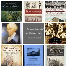 Marblehead History: Gift ideas for book lovers #Marblehead #Massachusetts #Read #Local #Authors #Books