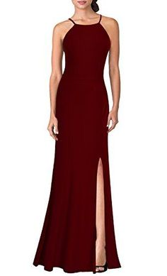 1a7ca3ad7df2 New Mmondschein Women s Vintage Halter Wedding Bridesmaid Evening Long Dress  online. Find the perfect Maya Brooke Dresses from top store. Fashion Corner