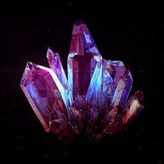 Crystal on Behance