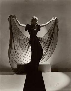 Photograph of Helen Bennett by Horst P. Horst, 1939.