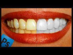 ▶ Tutorial Photoshop // Blanquear dientes - YouTube
