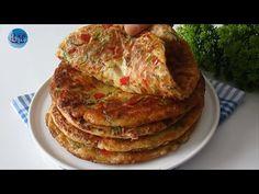 ΝΟΣΤΙΜΟ! Χωρίς ζύμωμα και στο τηγάνι 🔝 !! ΚΑΤΑΠΛΗΚΤΙΚΟ ΚΑΛΟ και ΕΥΚΟΛΟ. ΠΡΩΙΝΟ 💖💖 - YouTube Baked Omelette, Appetizer Recipes, Appetizers, Brunch, Breakfast Recipes, Bread, Vegan, Baking, Easy