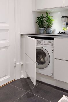 23 Creative Ways To Hide A Washing Machine In Your Home