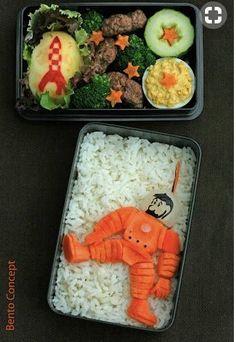 Tintin-themed Bento box.