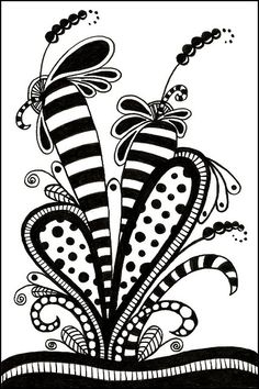 Zentangle Postcard Trade 3