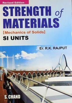 strength of material RK Rajput pdf free download - Mechanical Geek