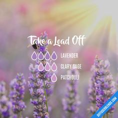 Take a Load Off — Essential Oil Diffuser Blend #PatchouliEssentialOilsrecipes