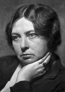 Sigrid Undset (20 May 1882 – 10 June 1949) was a Norwegian novelist who was awarded the Nobel Prize for Literature in 1928. She fled Norway for the United States in 1940 because of her opposition to Nazi Germany and the German occupation, but returned after World War II ended in 1945.  Her best-known work is Kristin Lavransdatter.