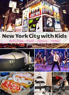 Ideas for a family vacation in New York City with Kids