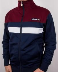 Ellesse Trasimeno Track Top in Navy/Burgundy/White Hoodie Outfit, Designer Jackets For Men, Mens Outdoor Jackets, Adidas Retro, Casual Couture, Mens Jogger Pants, Tracksuit Jacket, African Men Fashion, Ellesse
