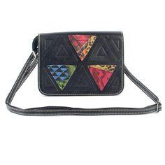 Fasmous Brands Women Messenger Bags Triangular Pattern Fashion Small Shoulder Bag Women Bags Girls Crossbody Clutches Handbag #Affiliate