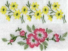 Linens 3 - DesignsBySiCK.com - 21 Designs<br>3rd in the series<br>11 at 5x7, 10 with marks at 6x9 embroidery designs