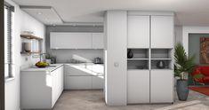 3D keukenontwerp laten maken - Keukenstudio Van Den Bijtel Latte, Kitchen Cabinets, Closet, Home Decor, Armoire, Decoration Home, Room Decor, Cabinets, Closets