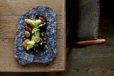 Tom Aikens - amazing food from his relaunched restaurant. Photography by David Griffen