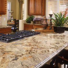 Golden Wave Granite Countertop