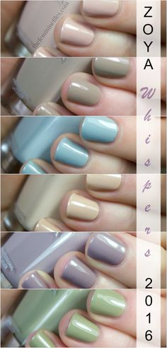 Zoya Whispers Transitional Collection 2016