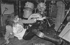 Patti Smith at CBGBs in NY