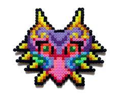Majora's Mask (small version) hama perler beads by Aenea-Jones on deviantART