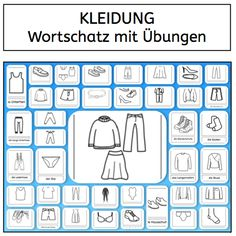 Wonderful site with many other sets of flashcards. German Grammar, German Words, German Language Learning, Teaching English, Preschool Body Theme, German Resources, Inquiry Based Learning, Learn German, Kindergarten Activities