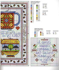 Cross Stitch Samplers, Counted Cross Stitch Patterns, Cross Stitch Designs, Cross Stitching, Cross Stitch Embroidery, Cross Stitch Boards, Just Cross Stitch, Cross Stitch Kitchen, Christmas Cross