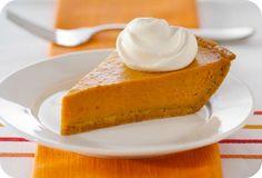 5 recetas con calabaza. Pumpkin pie