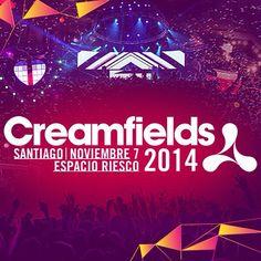 Creamfields Chile 2014 / 07 noviembre 2014! #Santiago #Chile #production #events #EDM #Creamfields