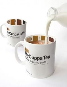 My Cuppa Coffee  - Mix your coffee just the way you like it using the color guide
