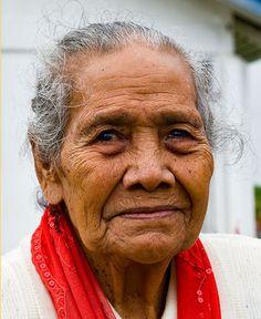 Elder ~ Tongan Woman, Tongatapu